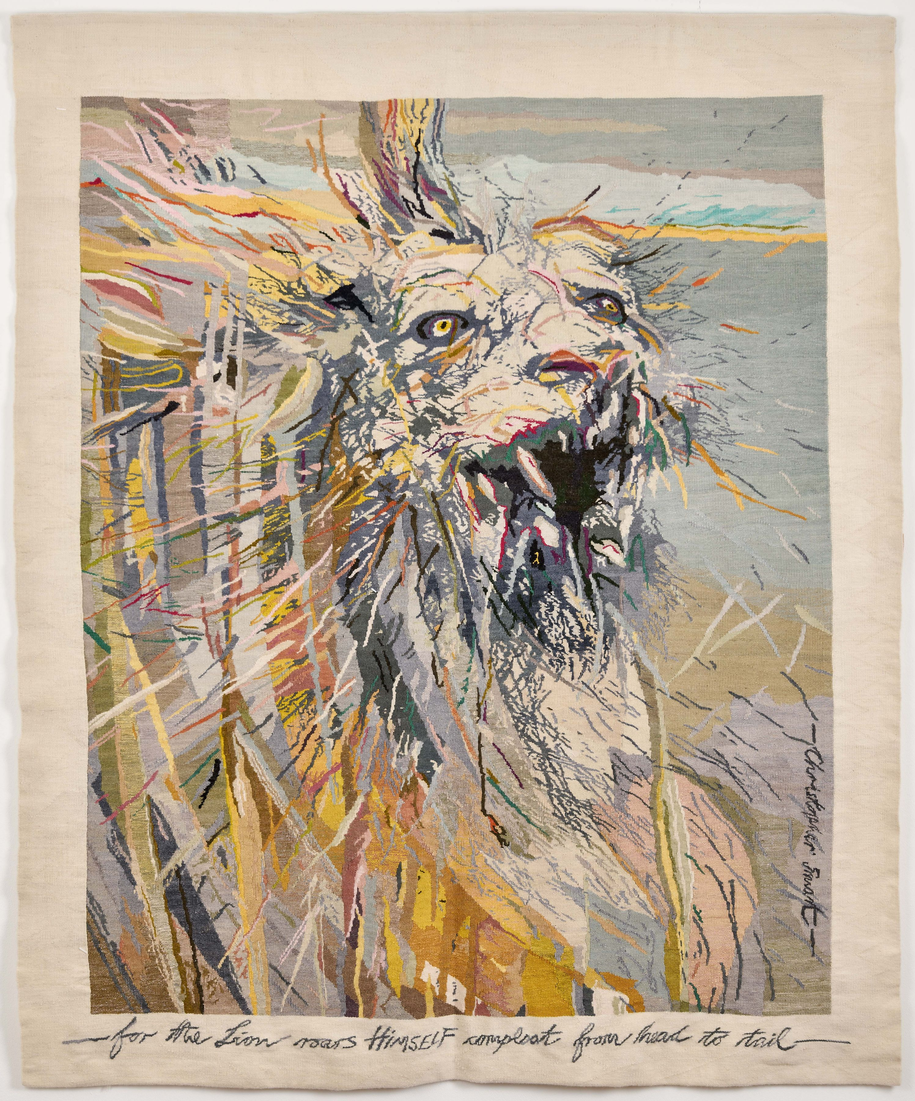 """Judith Mason & Marguerite Stephens - The Lion """"Roars himself Compleat"""""""