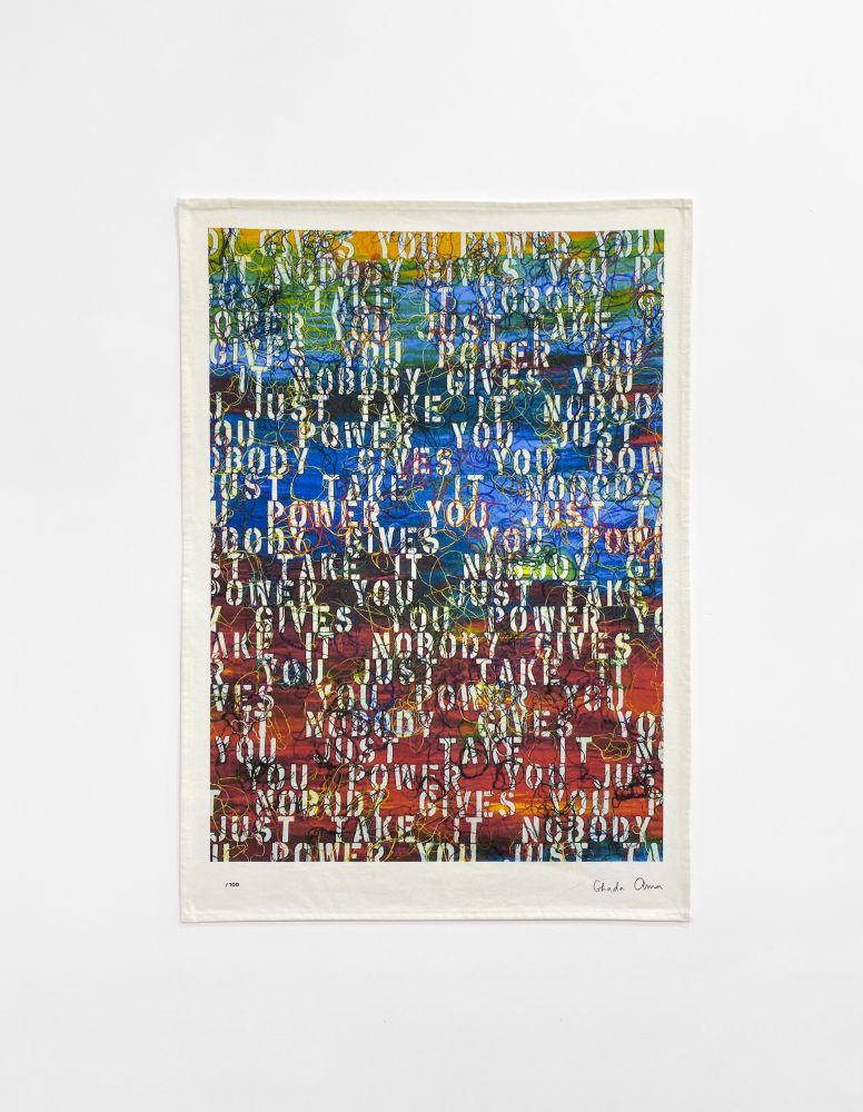 Ghada Amer, Untitled (based on Sunset with Words - RFGA, 2013), 2020