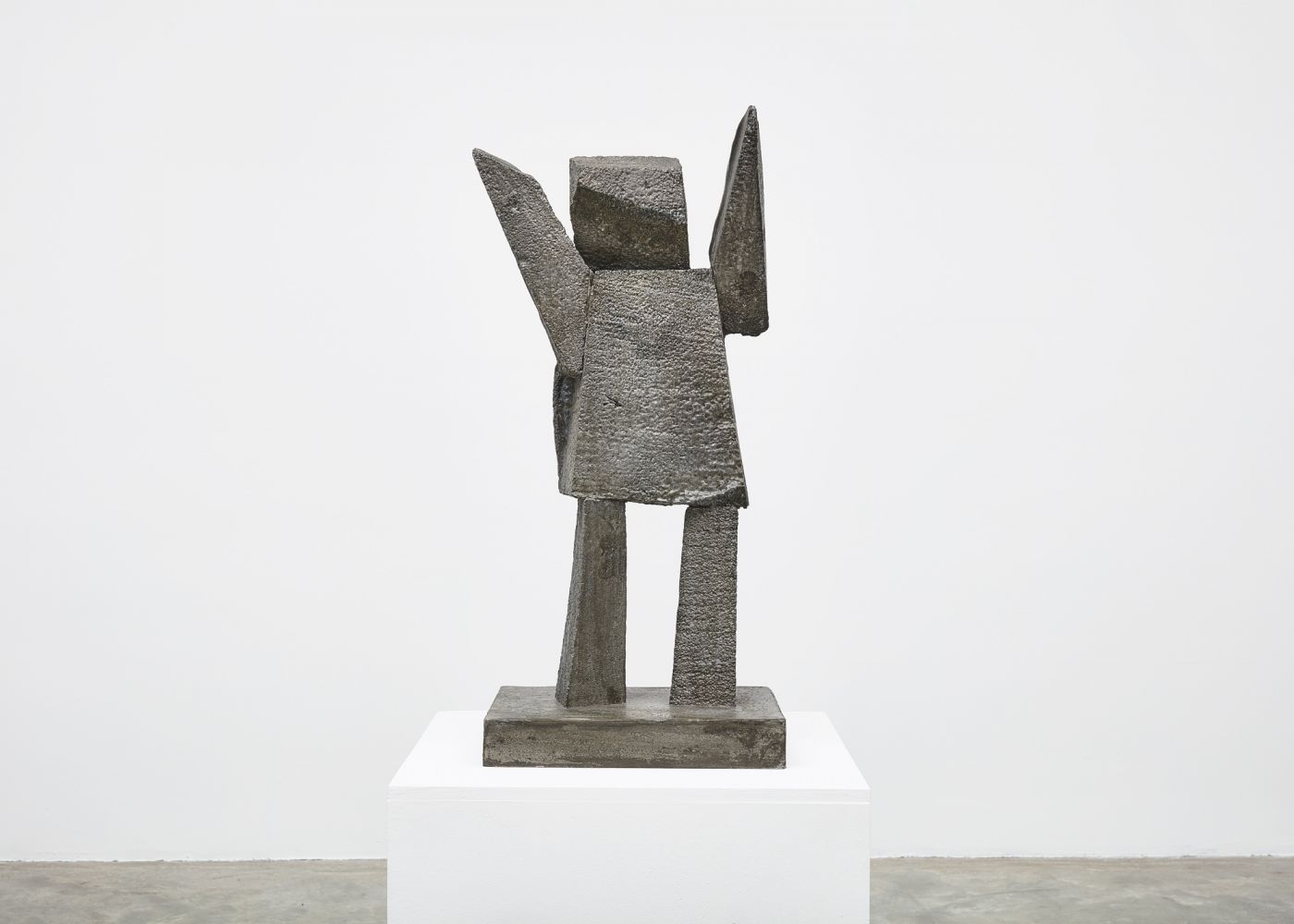 Gimhongsok (b. 1964) Surrender - Thomas, 2018 High-strength grout cement 37.01 x 16.93 x 11.81 inches 94 x 43 x 30 cm Edition 1/3, 2AP