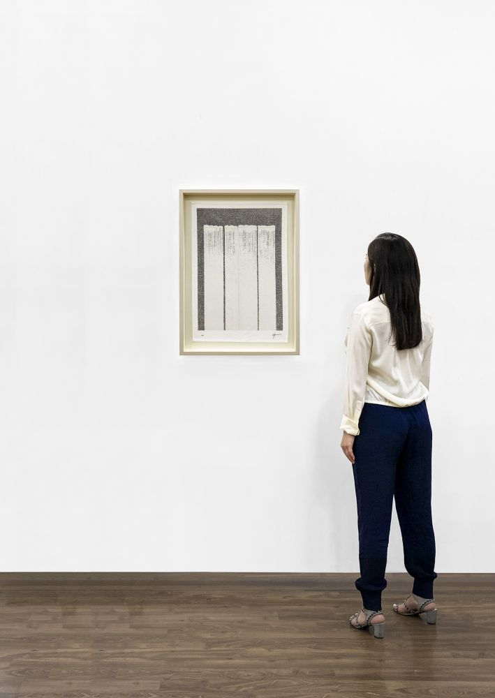 Installation View - Ha Chong-Hyun, Untitled (based on Conjunction, 2019)