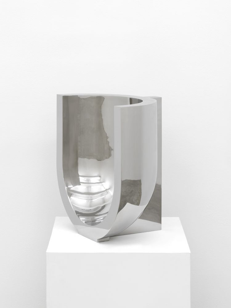 Davide Balliano (b. 1983) UNTITLED_SS_S1, 2019 Stainless steel 19.69 x 11.81 x 19.69 inches 50 x 30 x 50 cm Edition 1/3, 2 AP