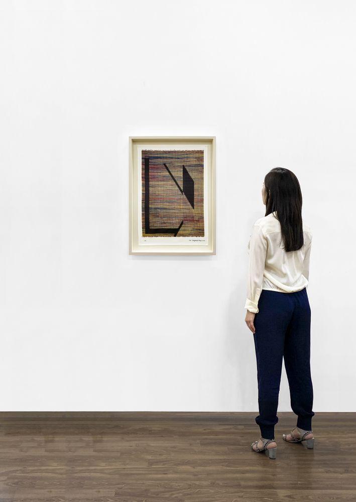 Installation View - Suki Seokyeong Kang, Untitled (Based on Mat Black Mat 122 x 163 #19-02, 2019), 2020