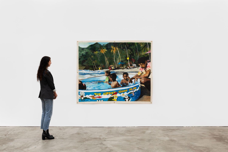Installation View 9 of Kareem-Anthony Ferreira: First Foundation (September 12–October3, 2020). Nino Mier Gallery, Los Angeles, CA