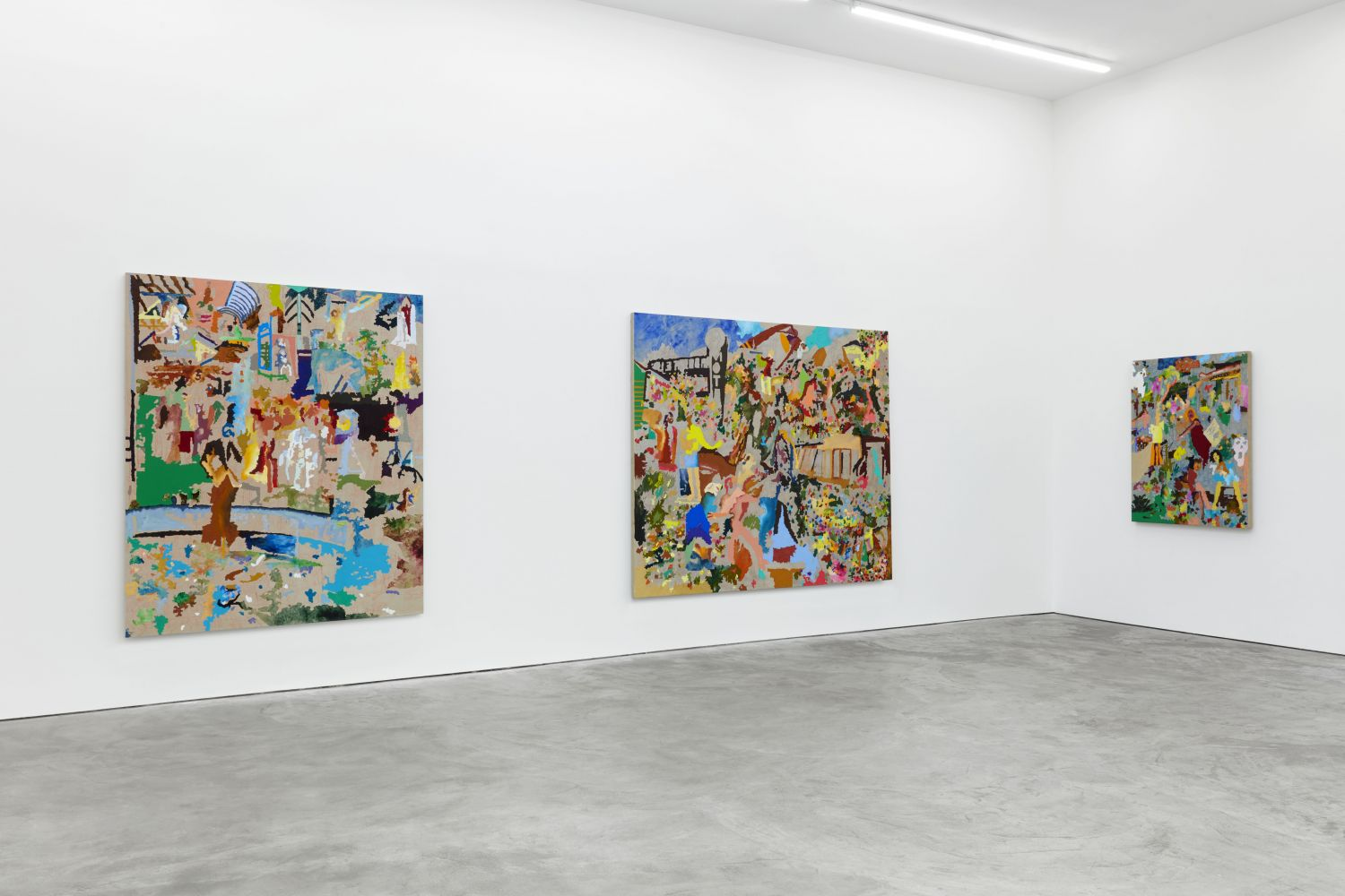 Installation View of Cindy Phenix: Particles of Abnormality (October 17–November 14, 2020). Nino Mier Gallery, Los Angeles, CA 7