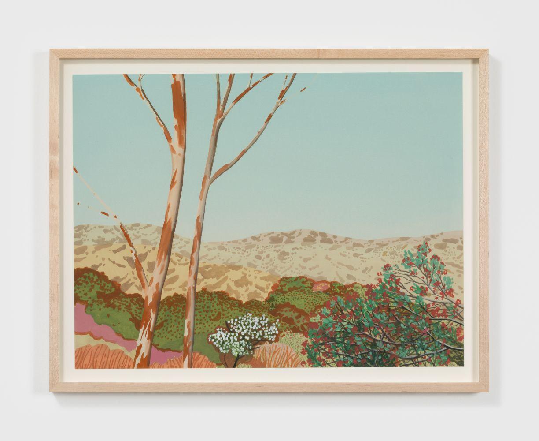 Jake Longstreth Untitled, 2020 Oil on watercolor paper 15 x 20 in 38.1 x 50.8 cm (JLO20.028)