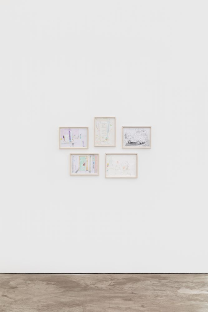 Installation View of Gerlind Zeilner: Open End (January 16–February 27, 2021) Nino Mier Gallery, Los Angeles, CA 7