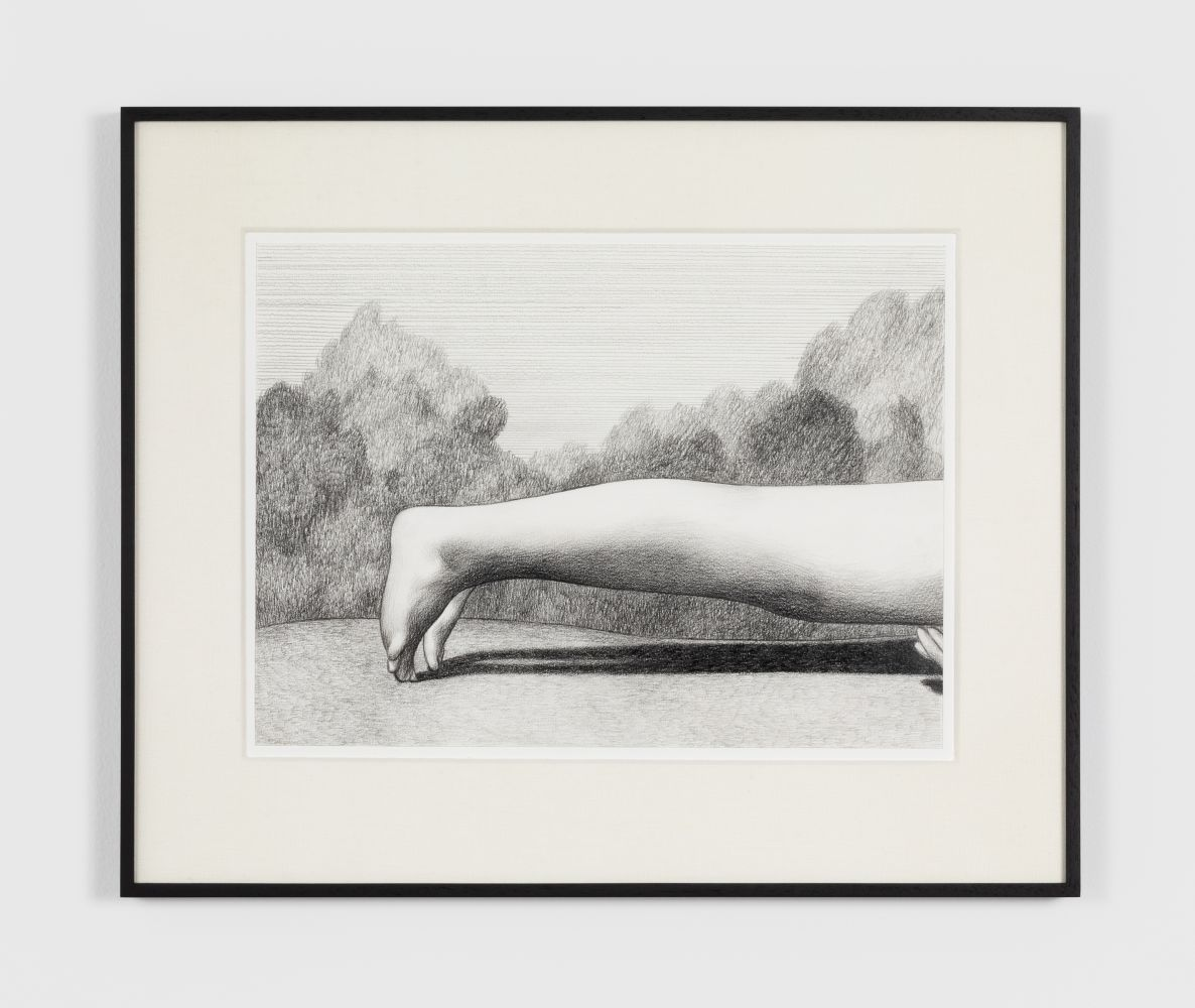 Anna Weyant Untitled, 2020 Graphite on paper 11 x 15 in, 27.9 x 38.1 cm (unframed) 17 x 21 in, 43.2 x 53.3 cm (framed) (AW20.005)