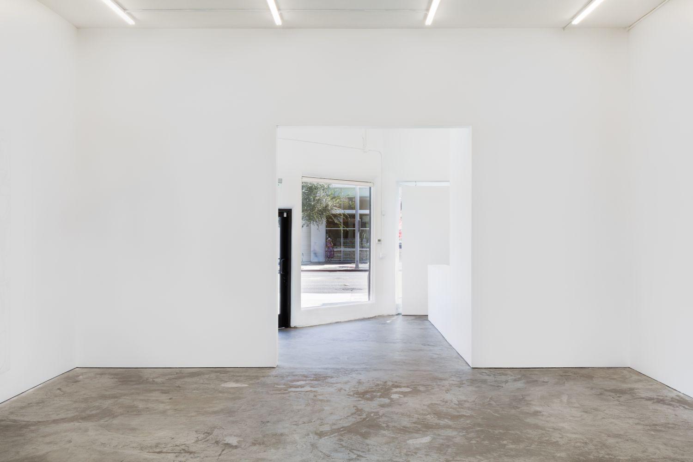 Installation shot of Jana Schroder: Neurosox (September 5–12, 2020). Nino Mier Gallery, Los Angeles, CA