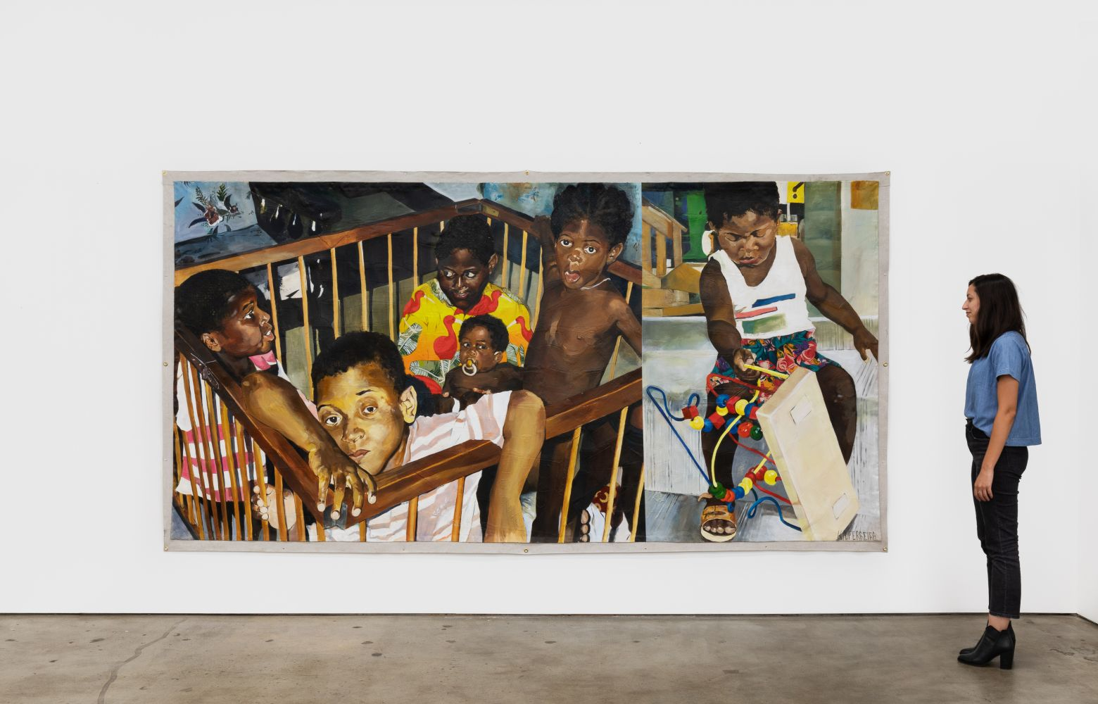 Installation View 8 of Kareem-Anthony Ferreira: First Foundation (September 12–October3, 2020). Nino Mier Gallery, Los Angeles, CA
