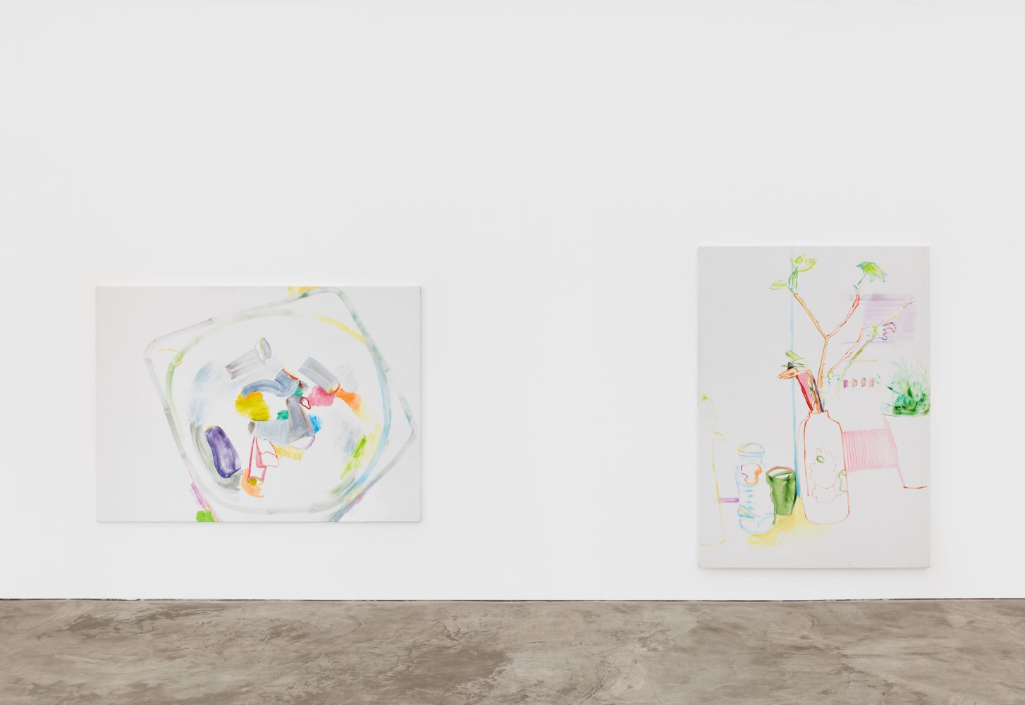 Installation View of Gerlind Zeilner: Open End (January 16–February 27, 2021) Nino Mier Gallery, Los Angeles, CA