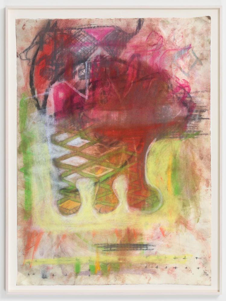 Anke Weyer, TBT, 2020. Soft pastel on paper, 26 x 19 in, 66 x 48.3 cm (AWE20.011)