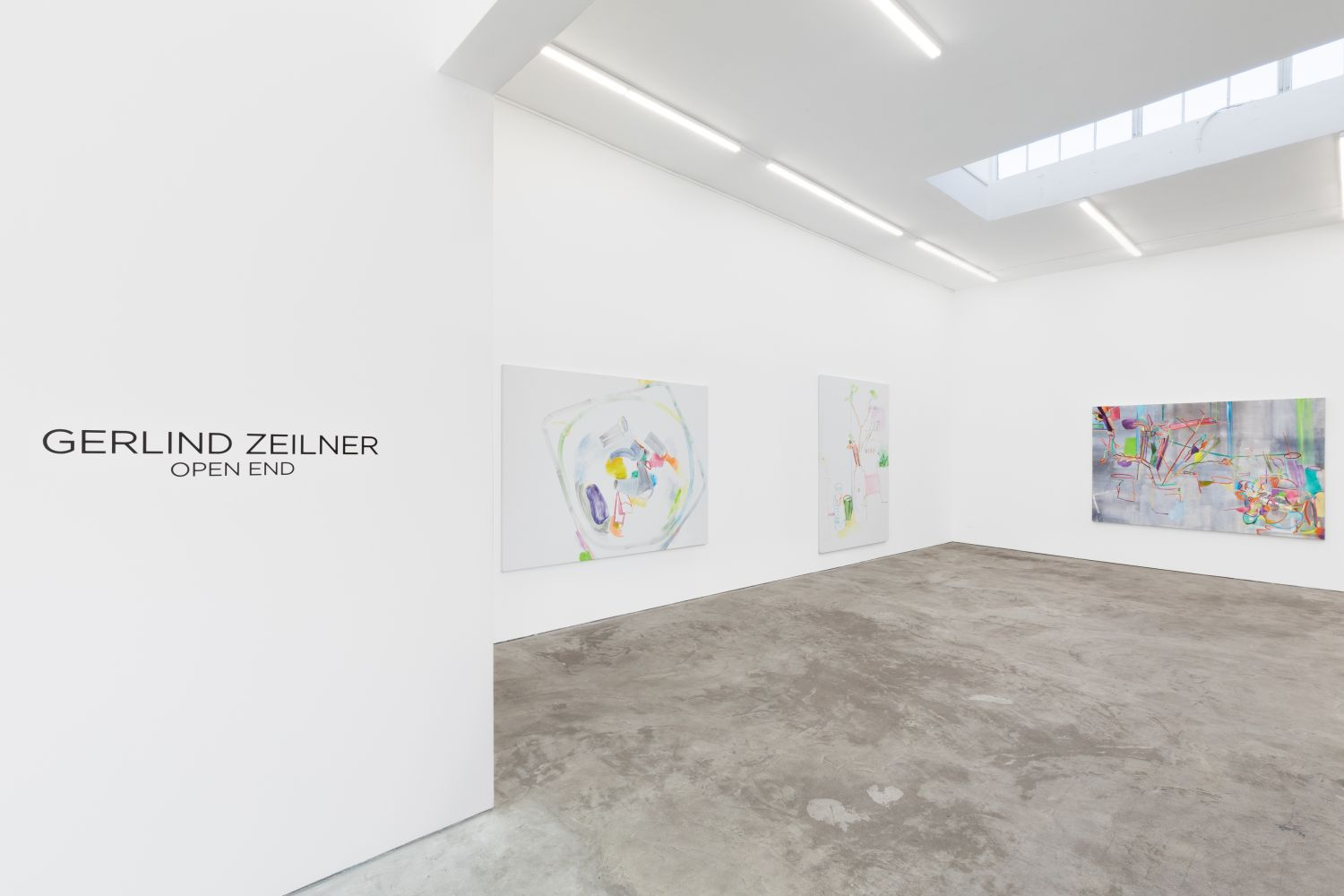 Installation View of Gerlind Zeilner: Open End (January 16–February 27, 2021) Nino Mier Gallery, Los Angeles, CA 8