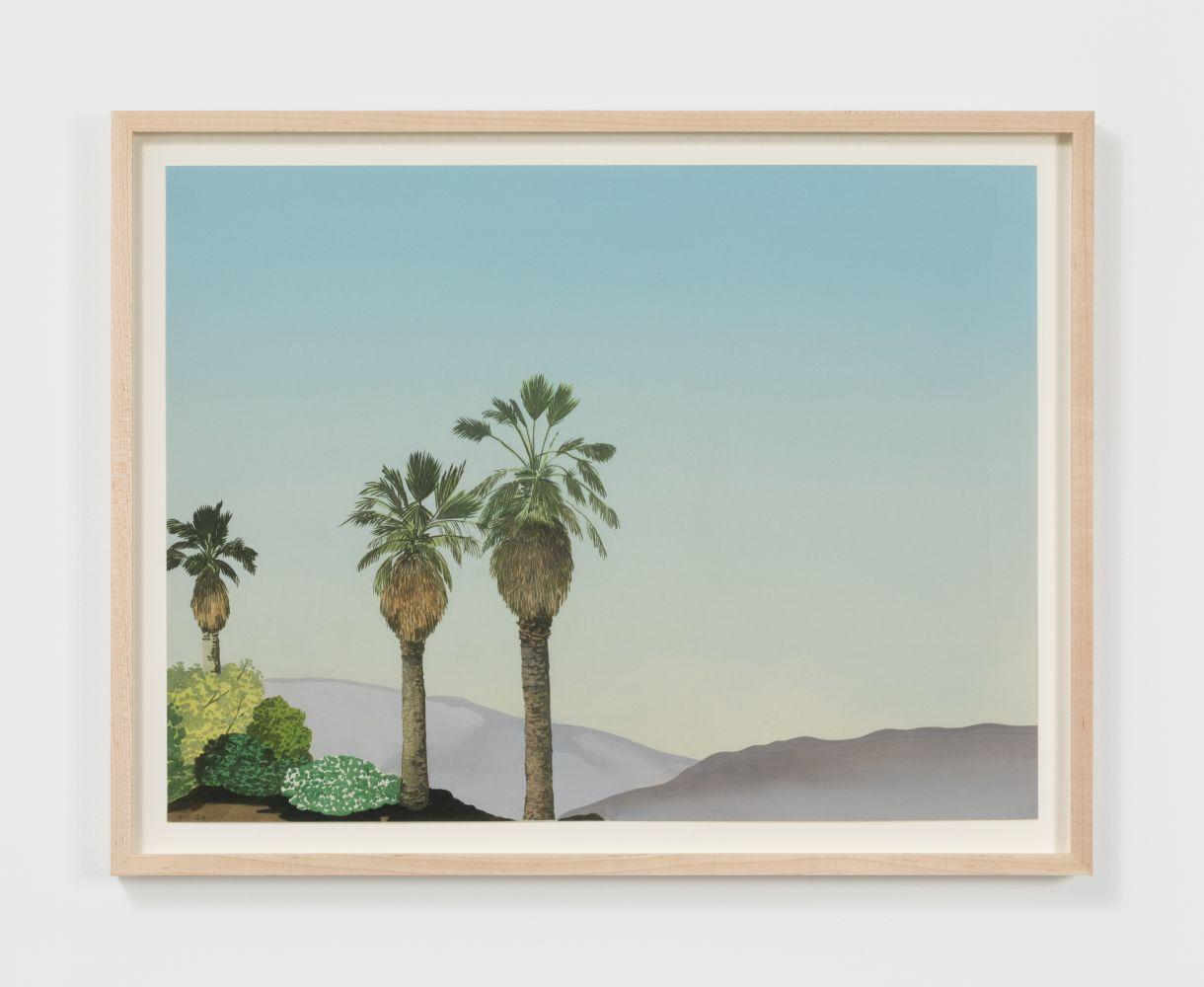 Jake Longstreth Untitled, 2020 Oil on watercolor paper 15 x 20 in 38.1 x 50.8 cm (JLO20.030)