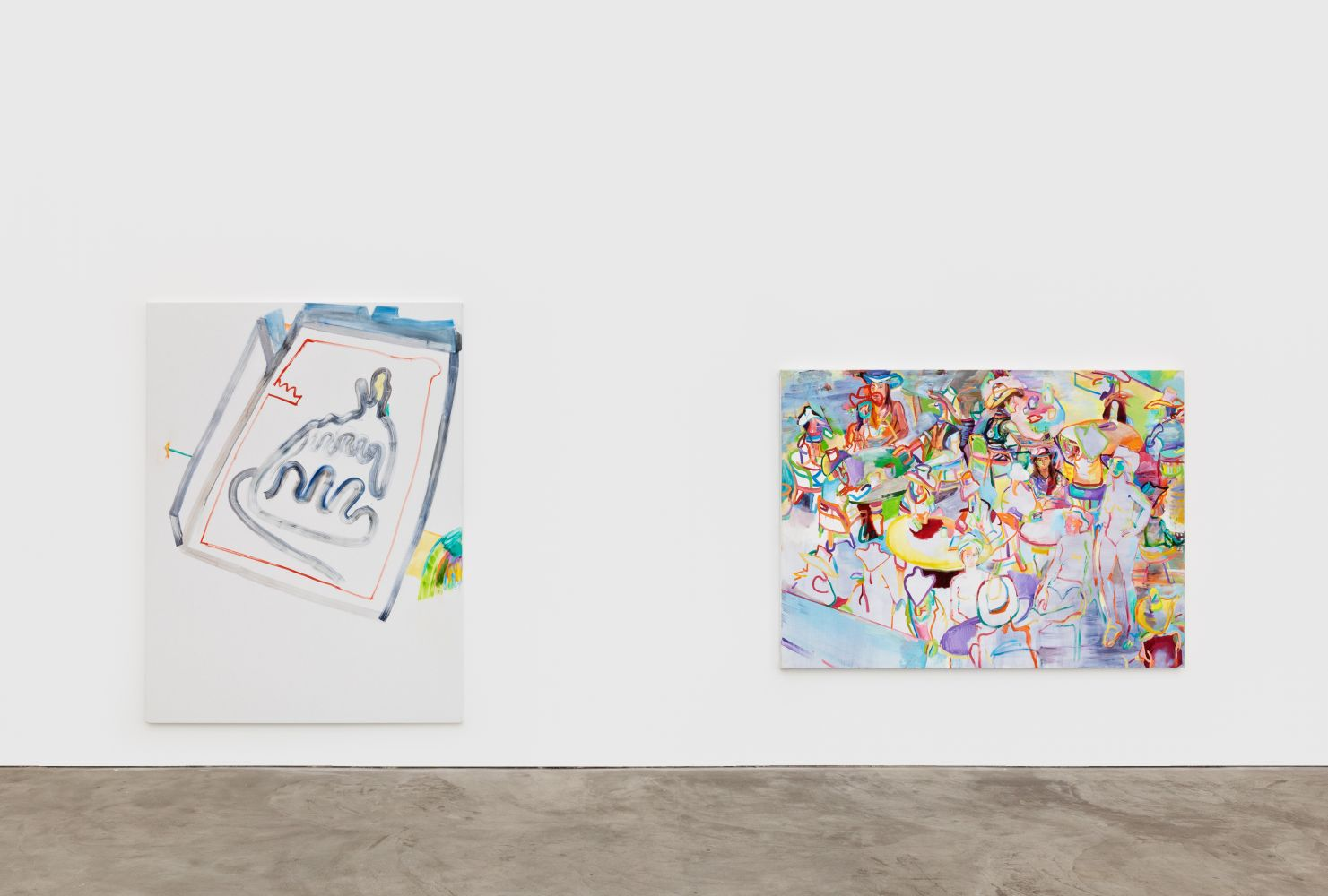 Installation View of Gerlind Zeilner: Open End (January 16–February 27, 2021) Nino Mier Gallery, Los Angeles, CA 6