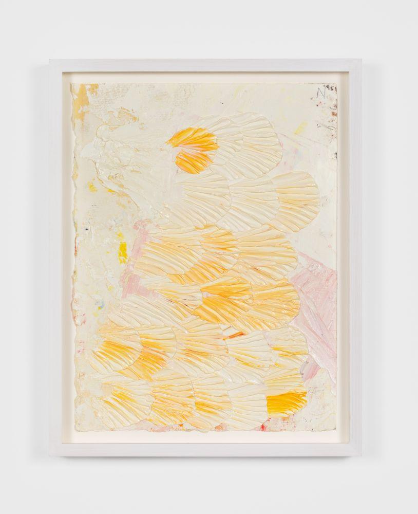 Dashiell Manley N, 2020 Oil on pencil on paper 11 1/2 x 15 in, 29.2 x 38.1 cm (unframed) 17 x 13 1/2 in, 43.2 x 34.3 cm (framed) (DMA20.003)
