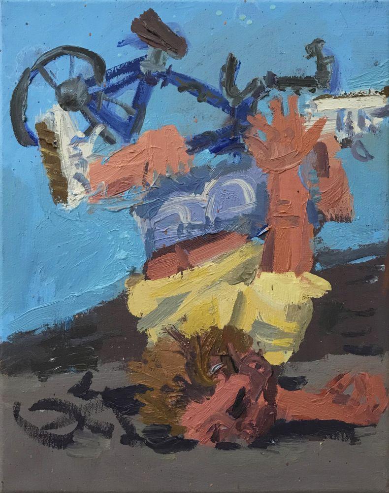 TODD BIENVENU Bike Wreck, 2020