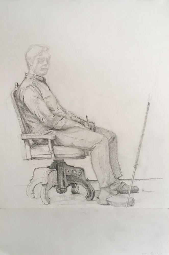 MITCH HOBBS Self-portrait, 2020