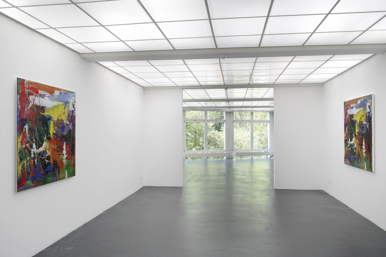 Kunsthaus Baselland installation view