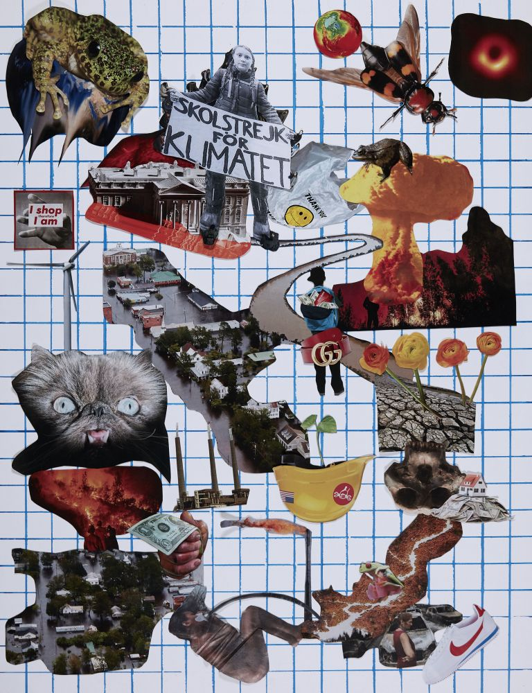 Catherine Opie - Political Collages