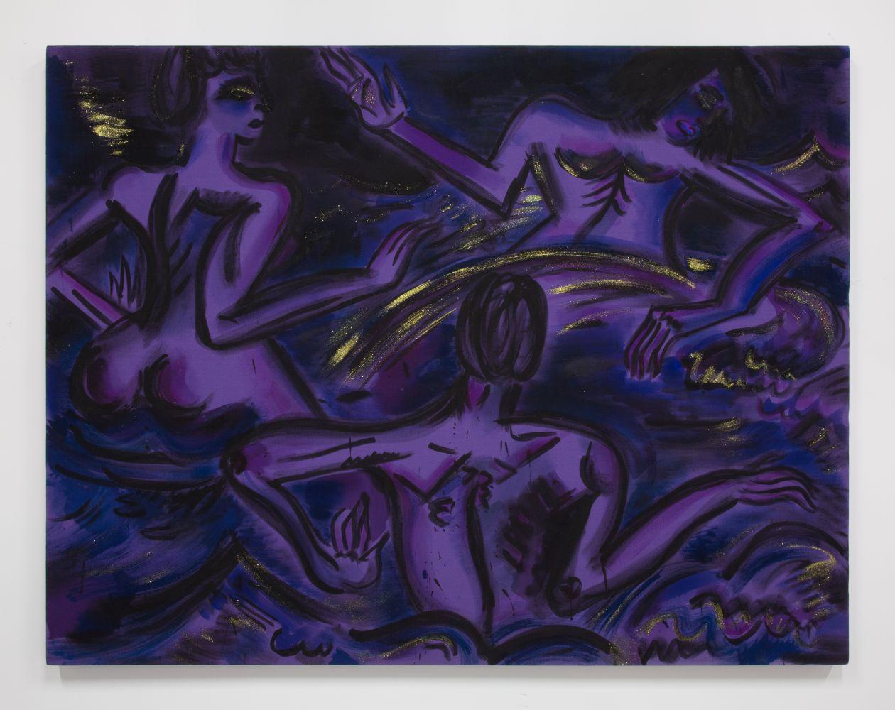 Mira Dancy, Black Sky Sirens (Splash), 2013