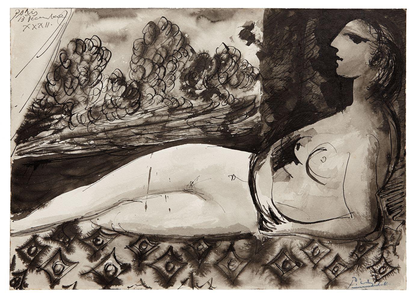 Pablo Picasso, Femme étendue
