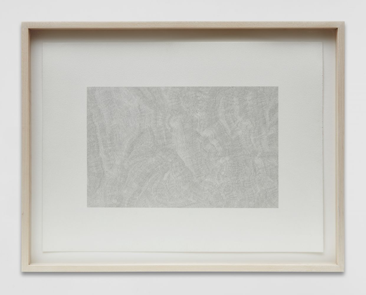 Linear Scenery, 2004-05, with frame