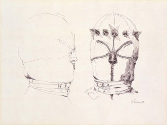 Untitled (Double Head with Crown), 1968