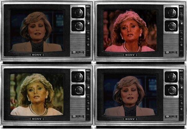 T.V. Network Newswomen Corresponding (Faith and Barbara), 1986