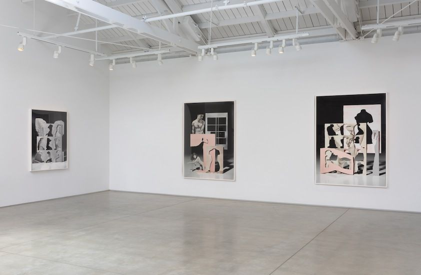 Matt Lipps Looking Through Pictures​, installation view
