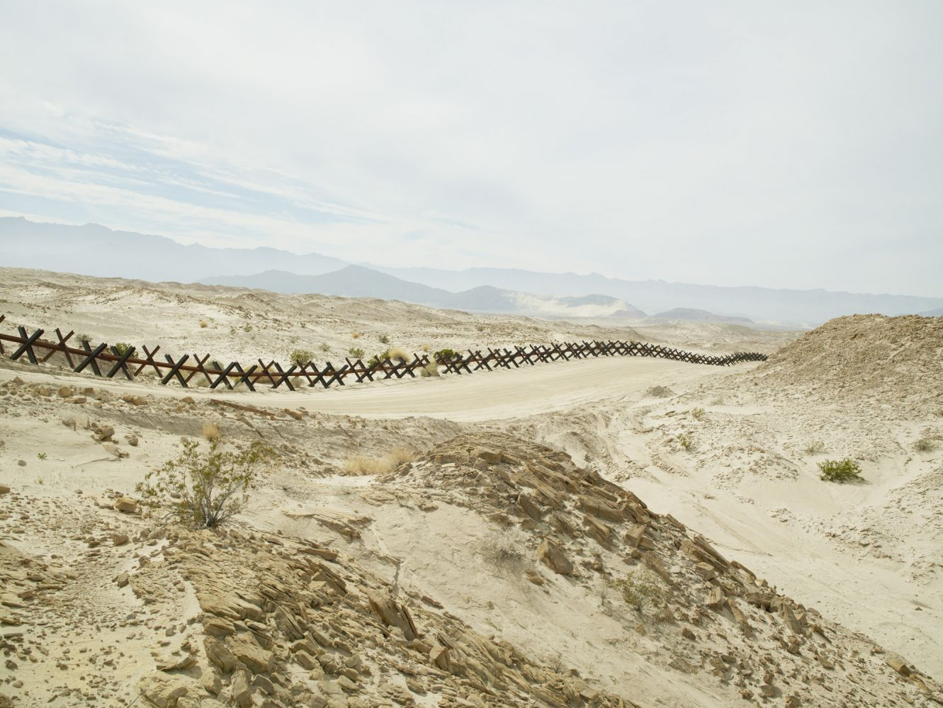 Normandy Wall Near Ocotillo, California, 2015