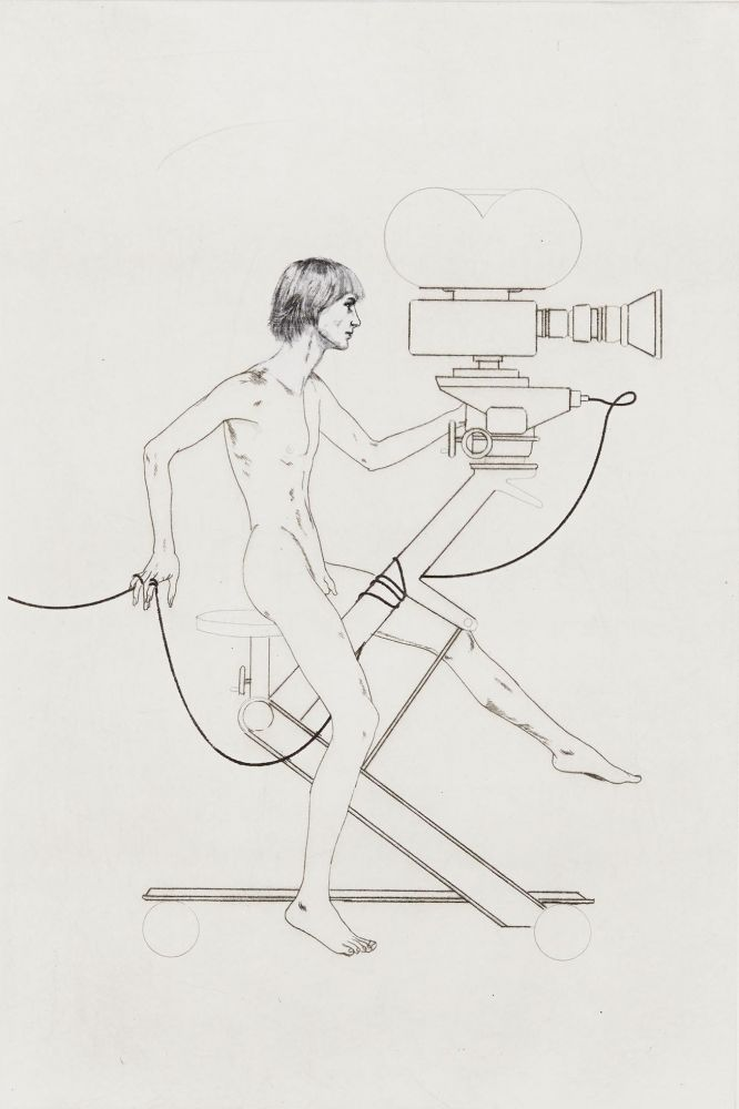 Hard Hill, Figure on Camera, 2020