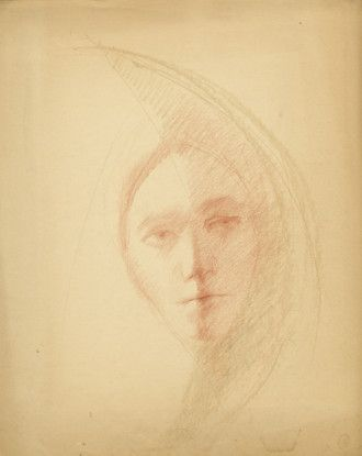 Untitled (Self Portrait?), n.d.