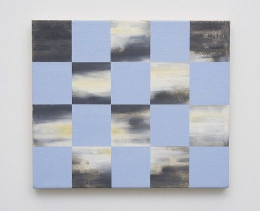 Untitled (Blue and Tone-bar Checkerboard), 1992