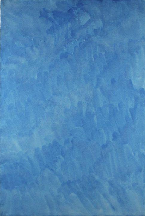 Cerulean Blue, August 17, 1974, 1974
