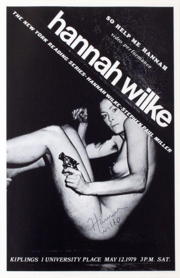 Hannah Wilke  So Help Me Hannah, 1979