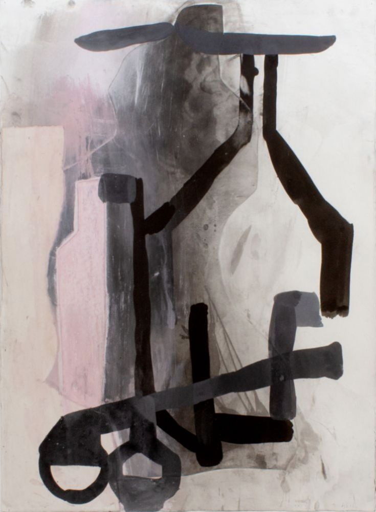 Amy Sillman, A Shape That Stands Up and Listens #2, 2012