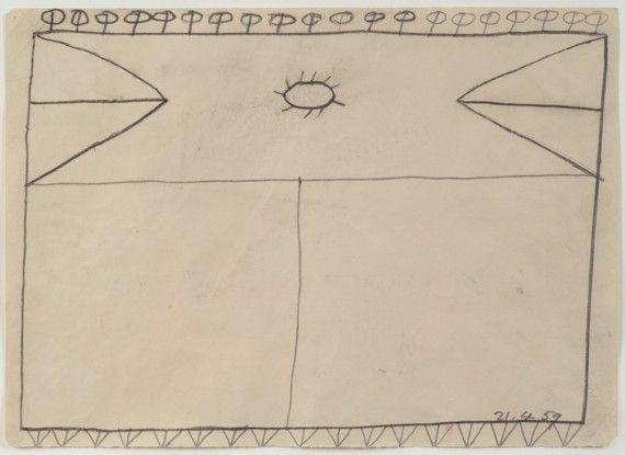 Drawing 21.4.59, 1959