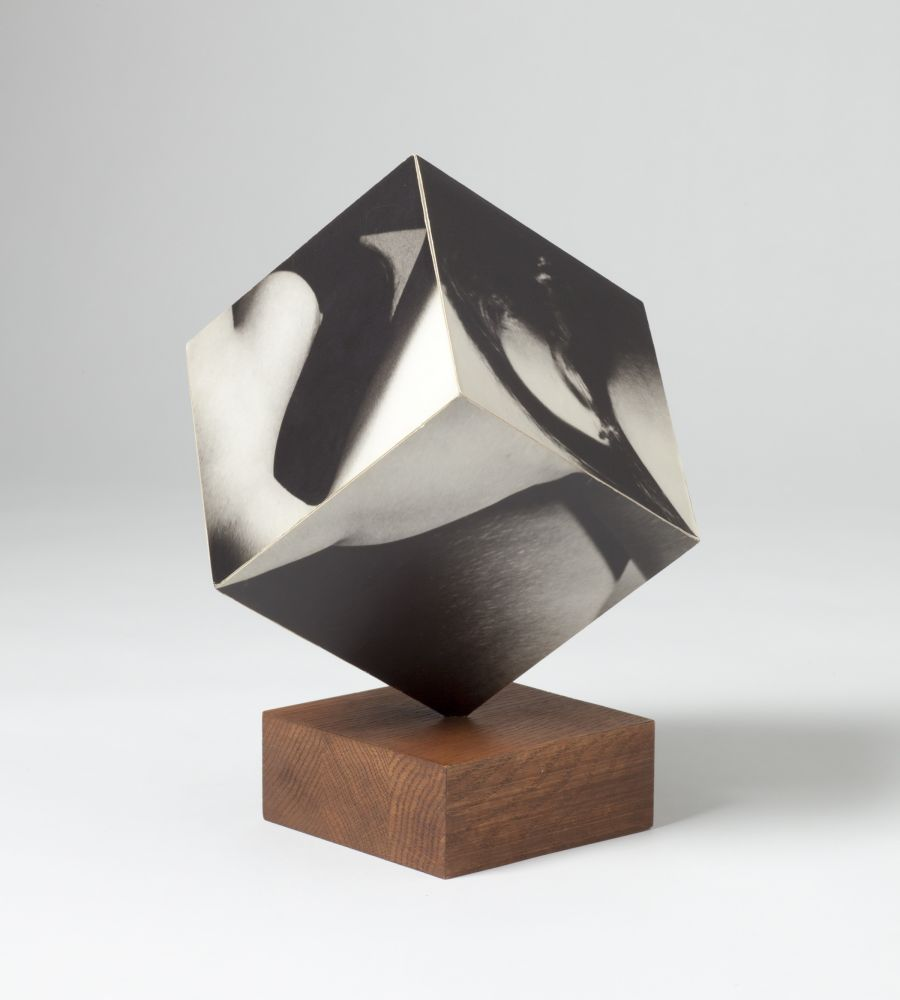 Robert Heinecken  Figure Cube, 1965