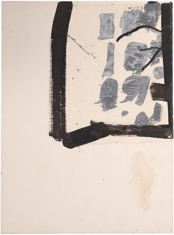 Jay DeFeo  Untitled (Florence), 1952