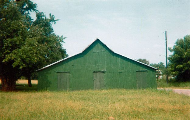 Green Warehouse, Newbern, Alabama, 1973