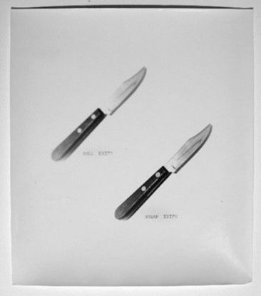 Dull Knife / Sharp Knife, 1972