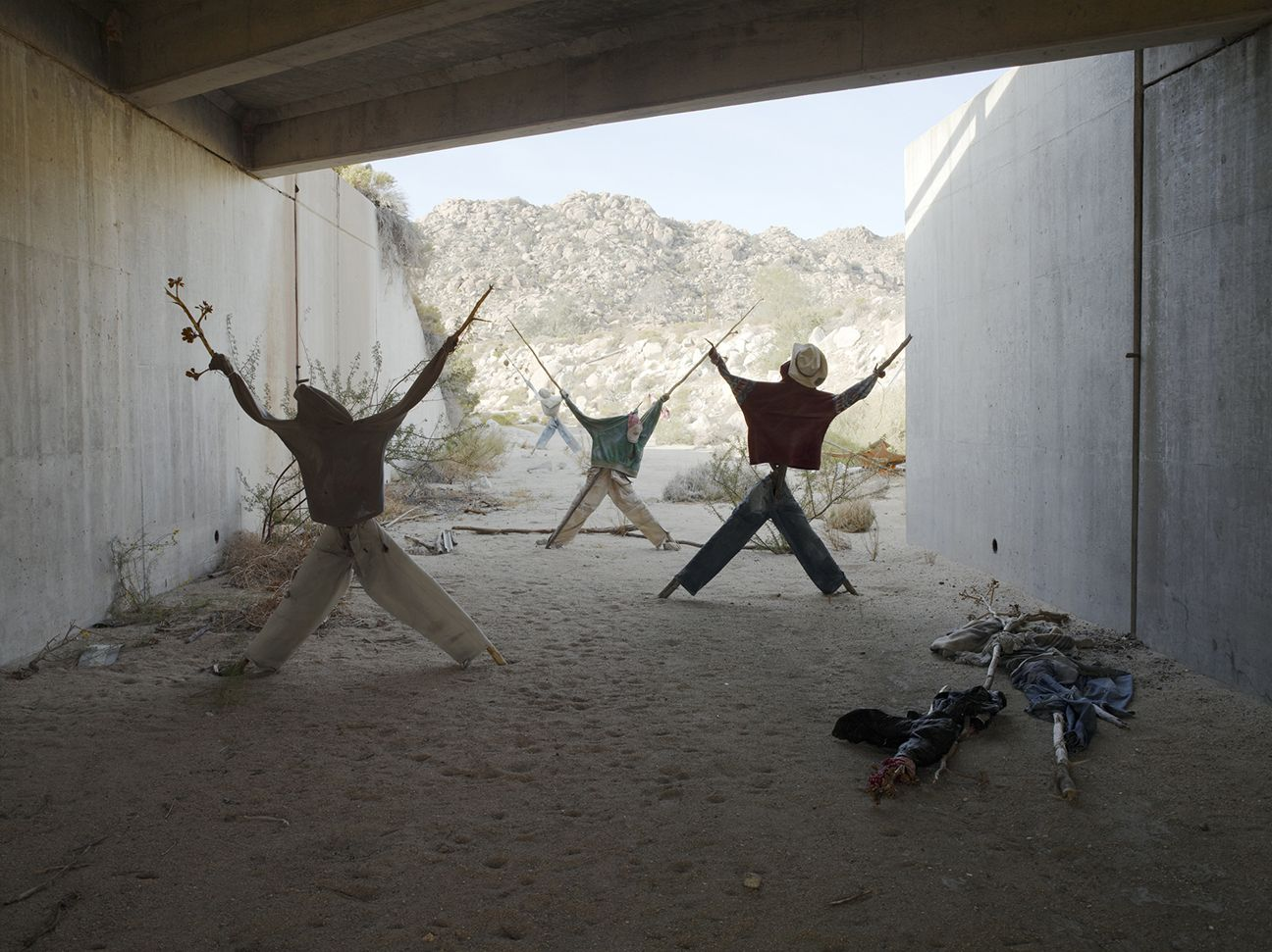 Effigy #7, near Jacumba, California, 2009
