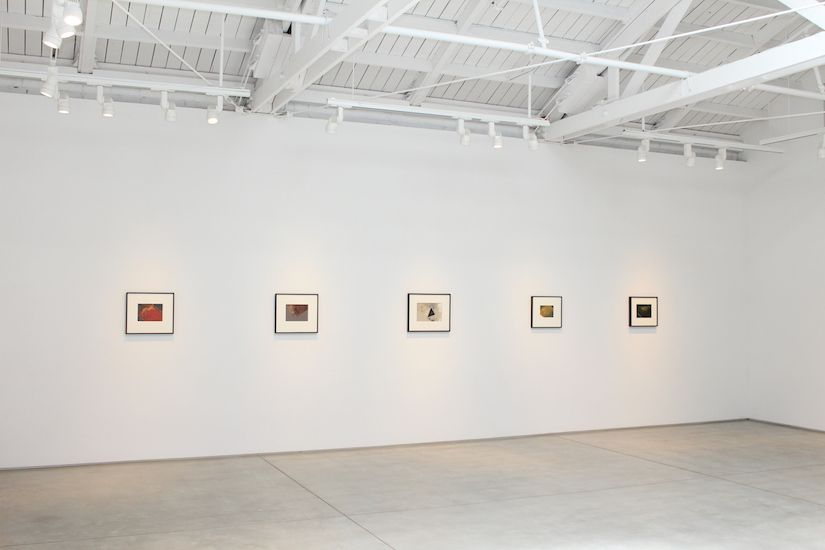 Jay DeFeo The Texture of Color​, installation view