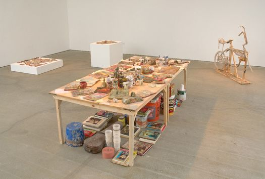 Kristen Morgin objects for everyone i have ever known​, installation view