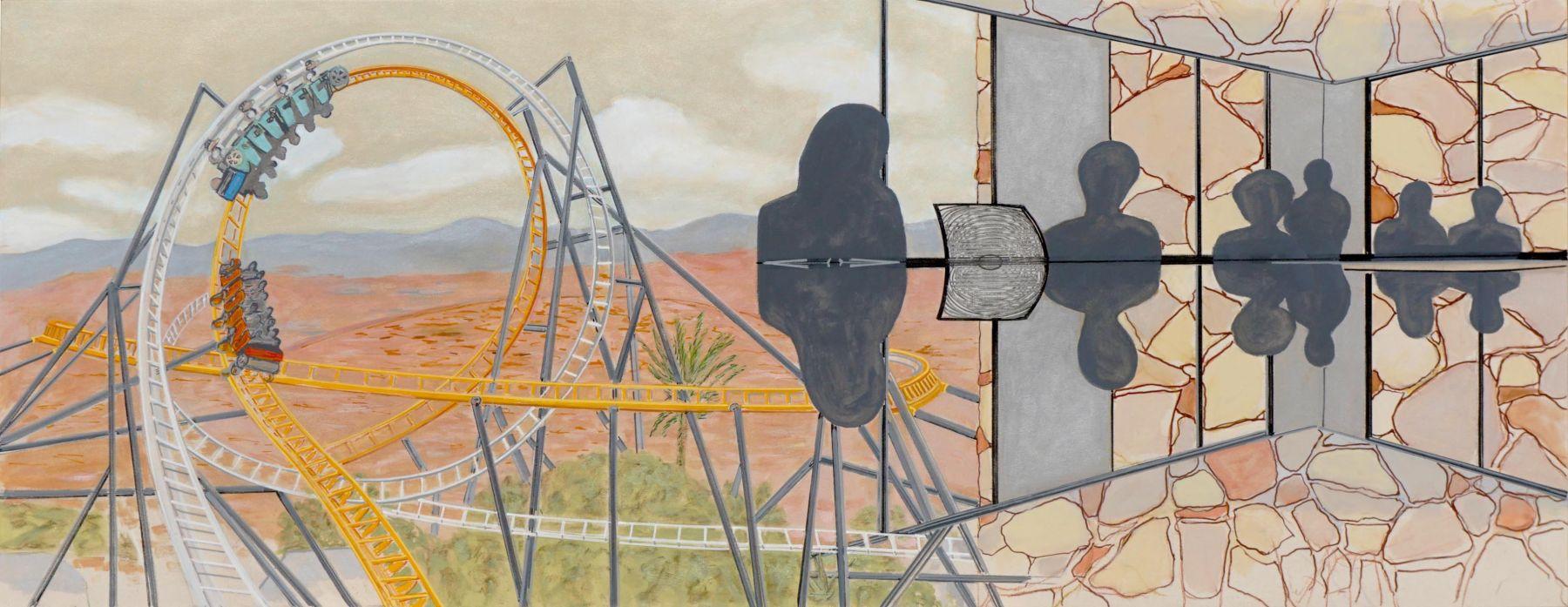 Roller, Reflection, Fieldstone, 2020