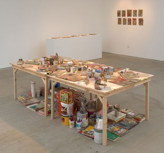 Kristen Morgin objects for everyone i have ever known, installation view