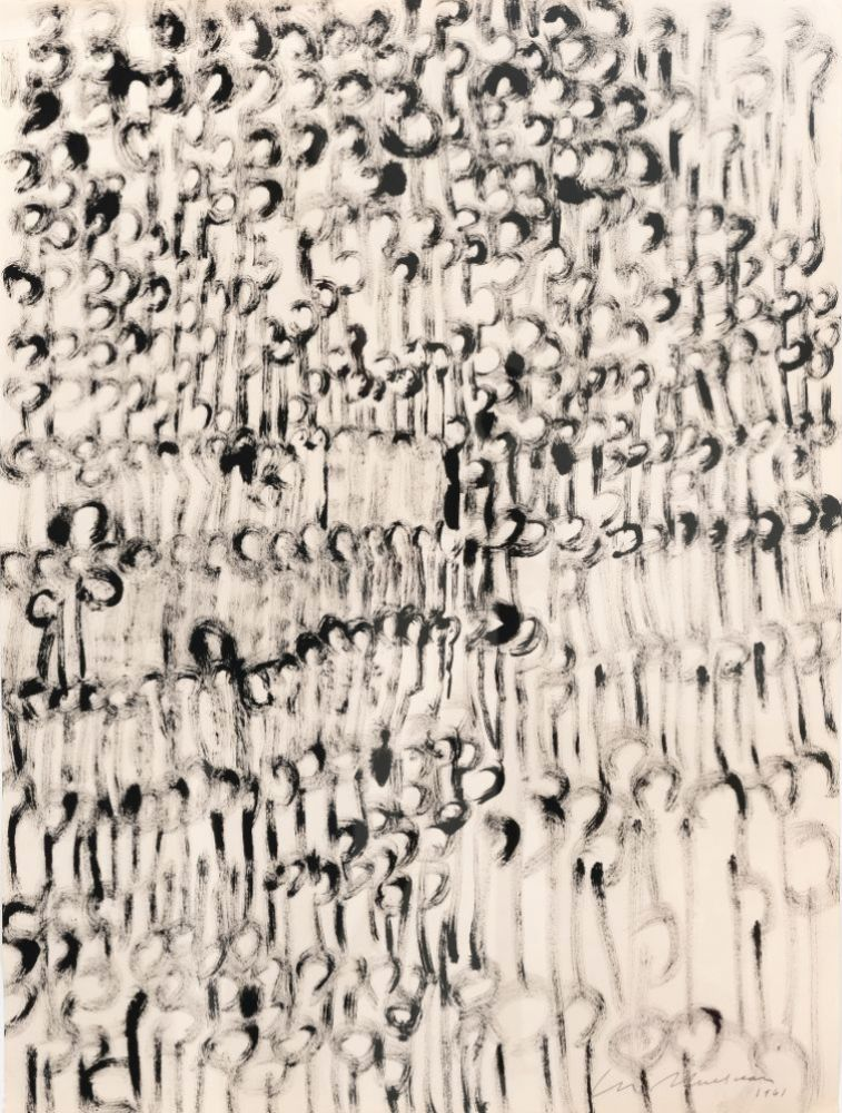 Lee Mullican, Untitled, 1961