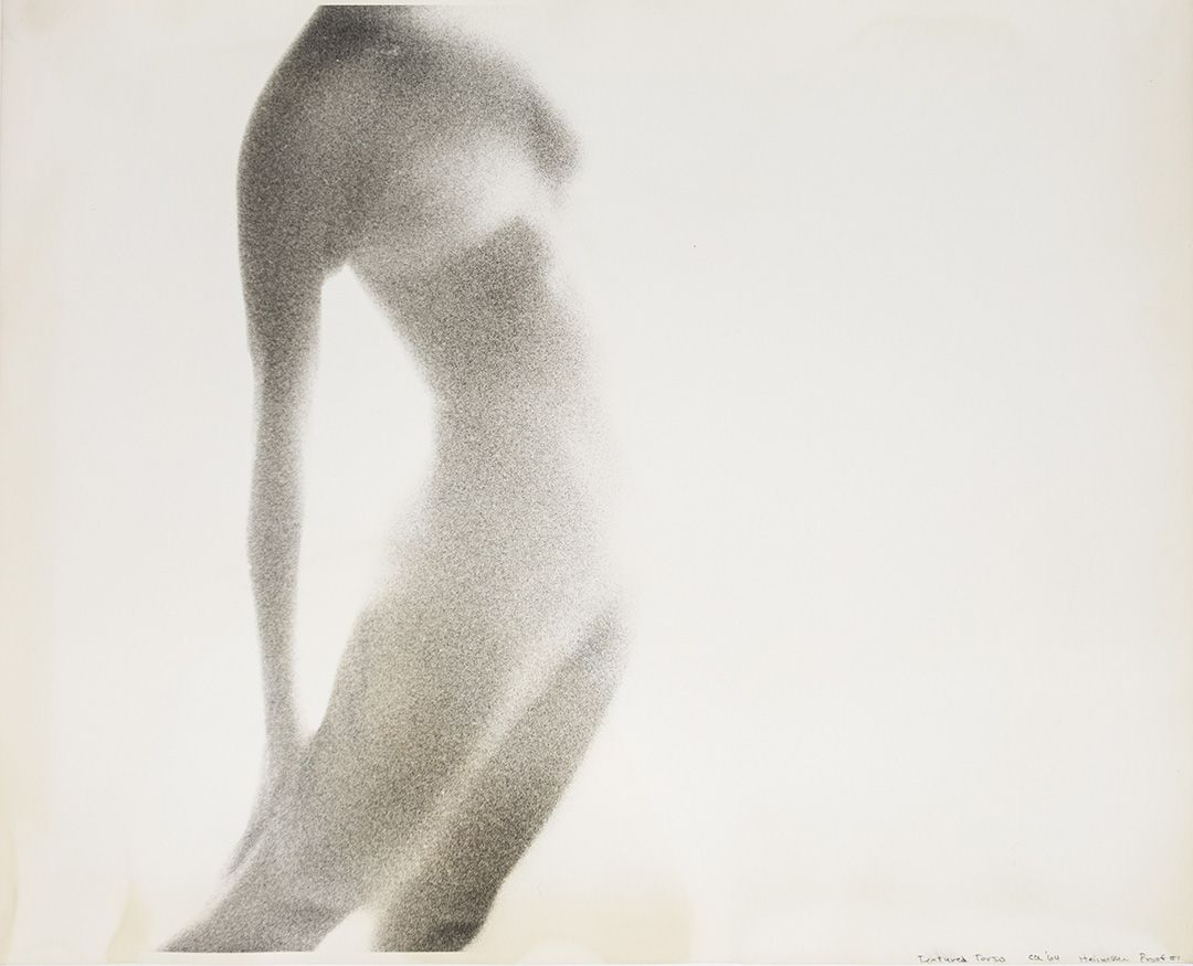 Robert Heinecken  Textured Torso (Proof #1), 1964