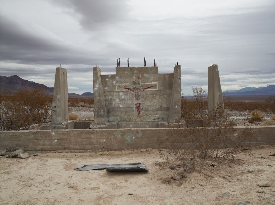 "Shotgun Practice, ""He will return,"" Nevada, 2009"