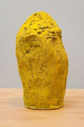 Hope Atherton, Stone (Yellow), 2012